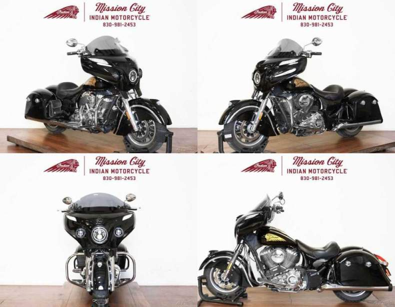 2018 Indian Chieftain Classic ABS Thunder Black Thunder Black used for sale craigslist