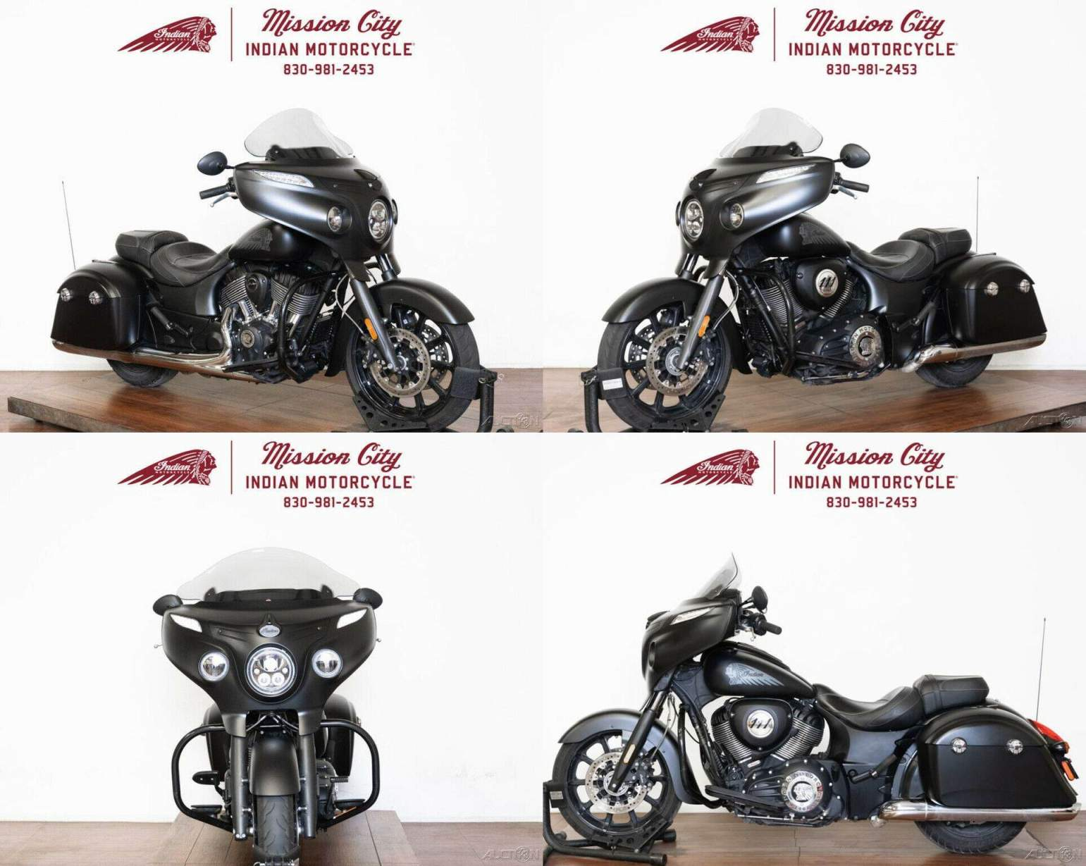 2018 Indian Chieftain Dark Horse ABS Thunder Black Smoke Thunder Black Smoke used for sale near me