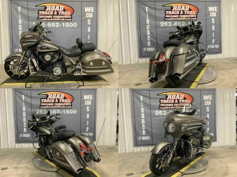2018 Indian Chieftain® Limited ABS Bronze Smoke with Graphics Bronze used for sale