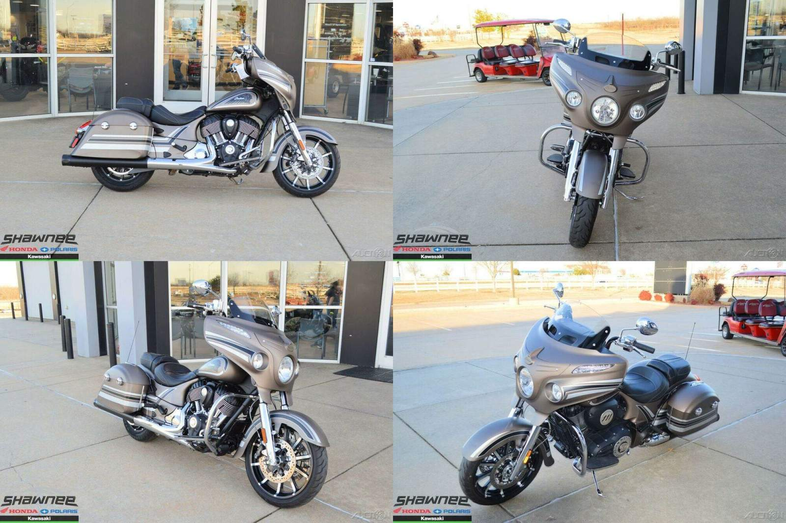 2018 Indian Chieftain Limited ABS Bronze Smoke with Graphics BRONZE used for sale craigslist