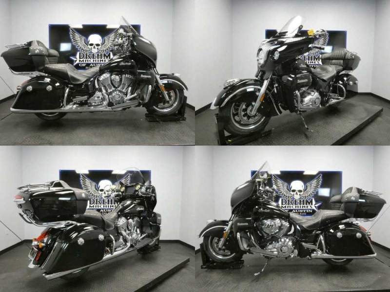 2018 Indian Roadmaster ABS Thunder Black Black used for sale