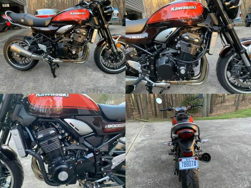 2018 Kawasaki Z900RS Candy tone Brown and Orange Pearl used for sale craigslist