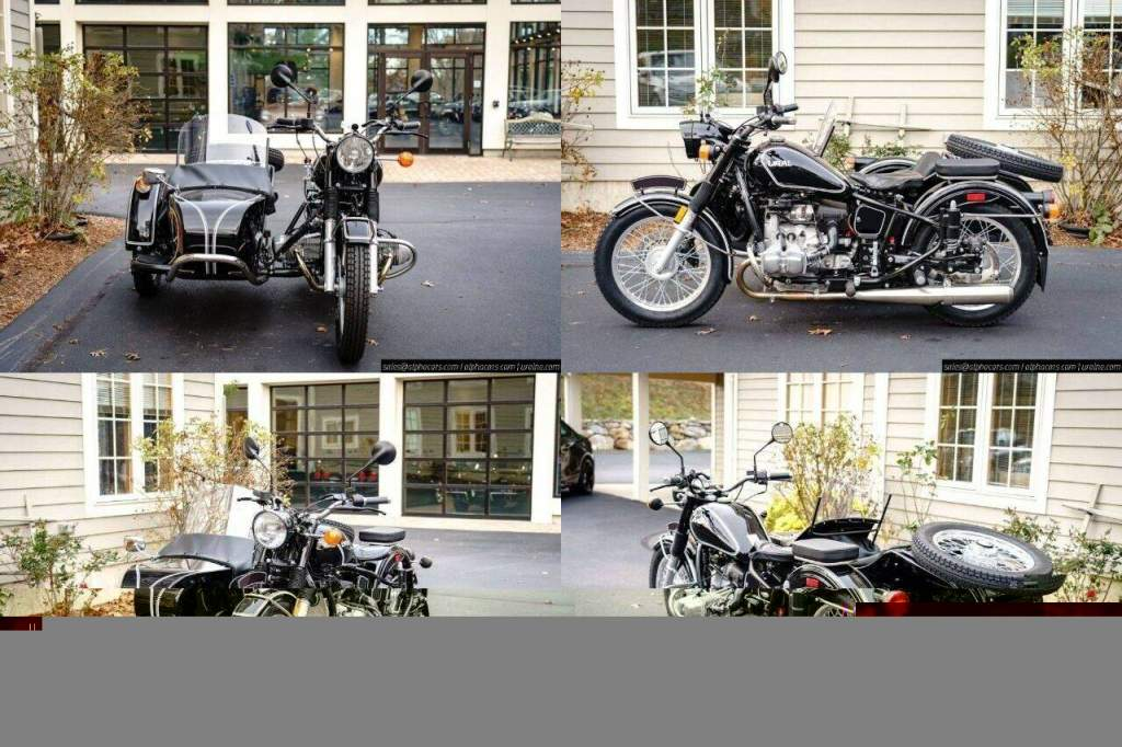 2018 Ural Retro Black Gloss Custom Black used for sale
