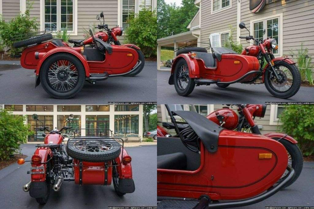 2018 Ural Retro Maroon Custom Maroon used for sale