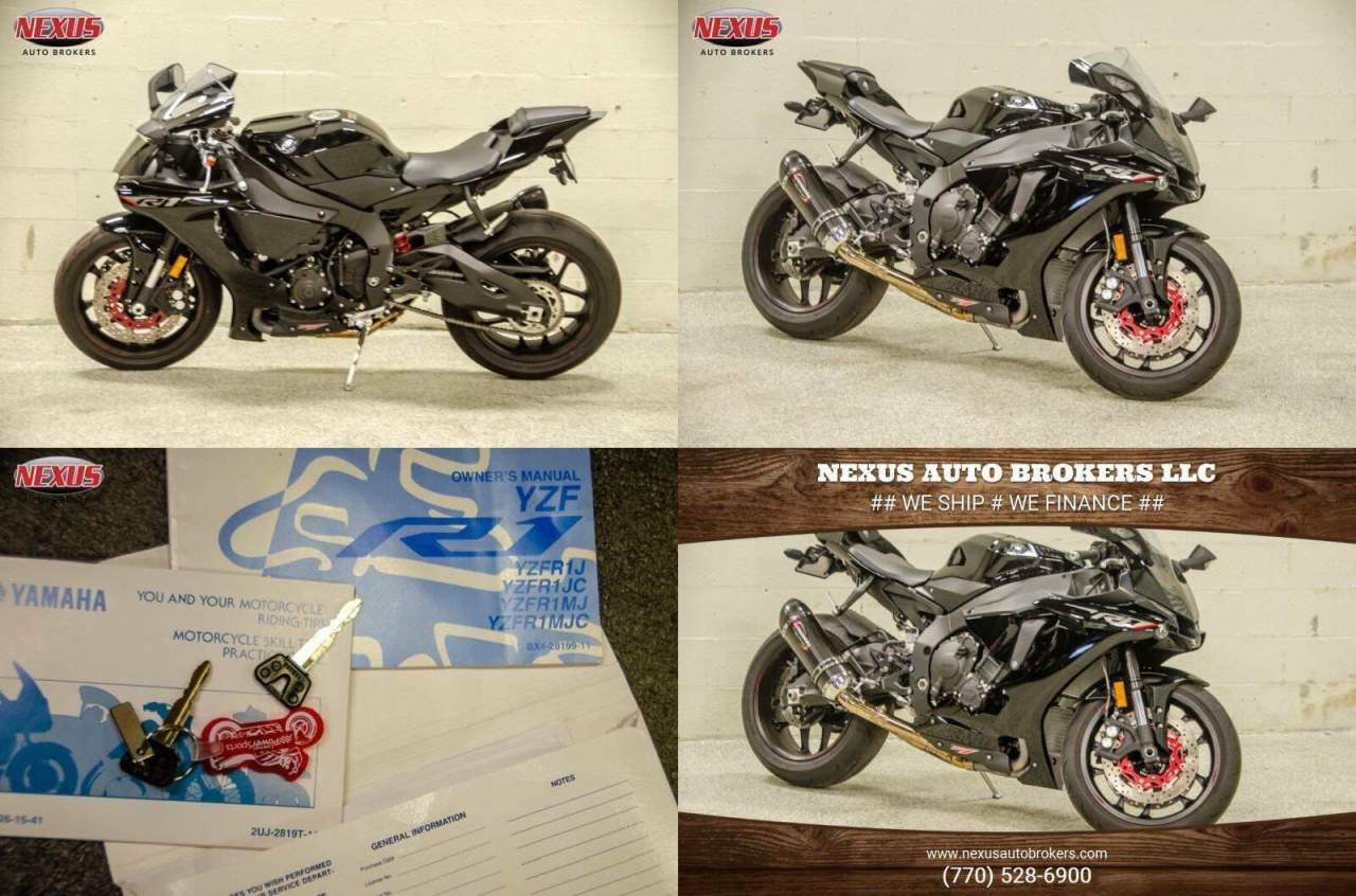 2018 Yamaha YZF-R Black used for sale