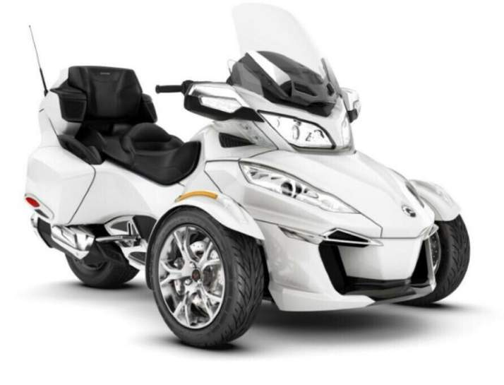2019 Can-Am Spyder RT Limited Chrome B9KH White used for sale near me