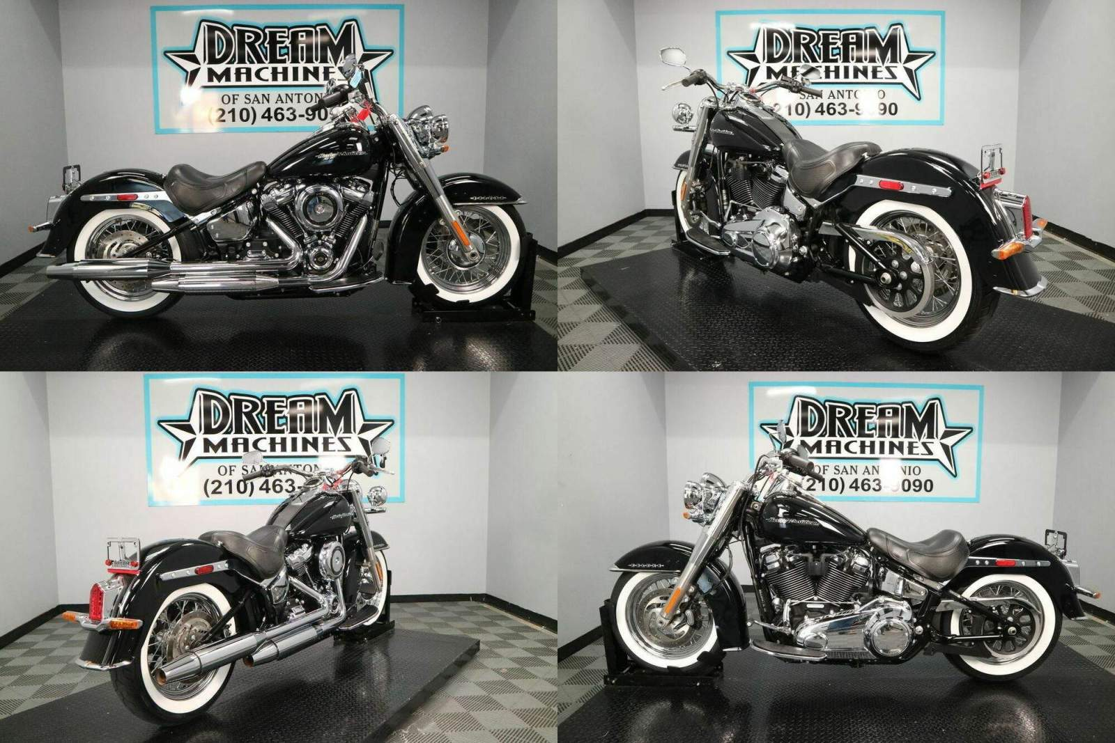 2019 Harley-Davidson FLDE - Softail Deluxe Black used for sale
