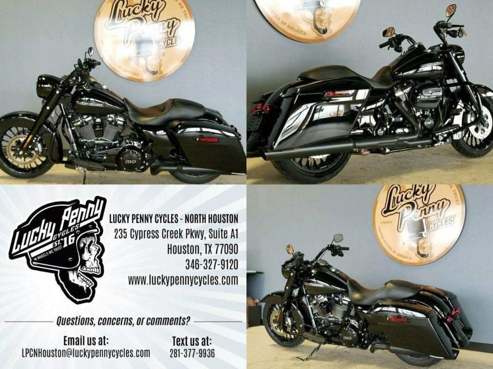 2019 Harley-Davidson FLHRXS ROAD KING SPECIAL Black used for sale near me