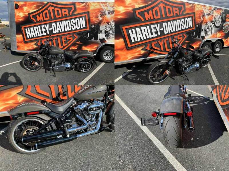2019 Harley-Davidson Softail Breakout 114 Industrial Gray used for sale