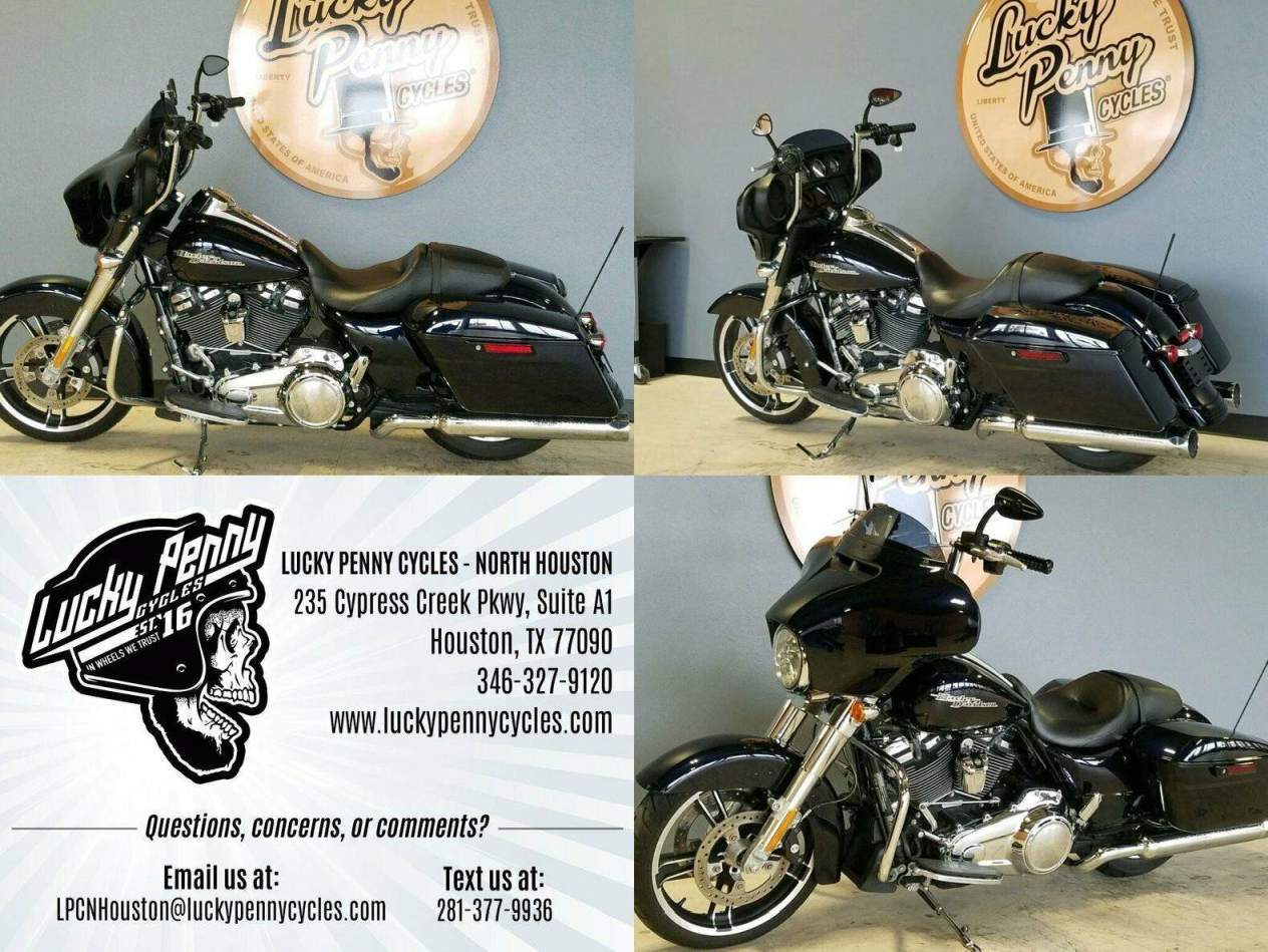 2019 Harley-Davidson Street Glide FLHX Blue used for sale craigslist