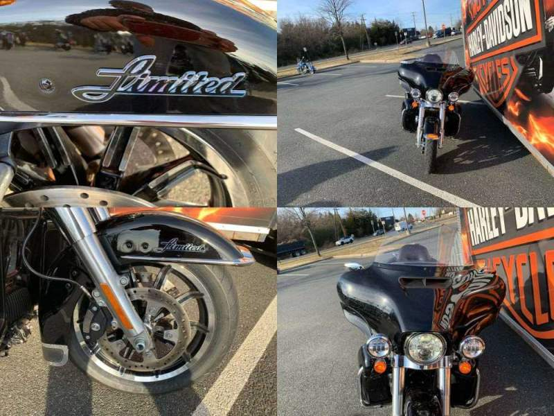 2019 Harley-Davidson Touring Ultra Limited Vivid Black used for sale near me