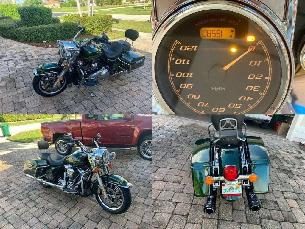 2019 Harley-Davidson Touring Green used for sale near me