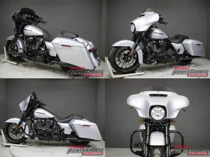 2019 Harley-Davidson Touring BARRACUDA SILVER used for sale