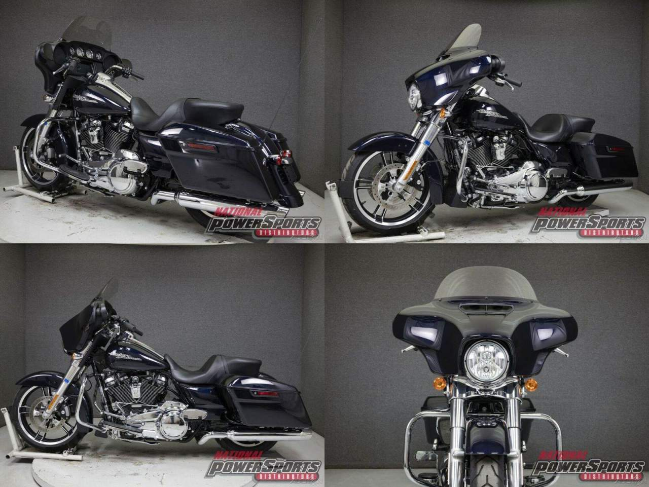 2019 Harley-Davidson Touring MIDNIGHT BLUE used for sale