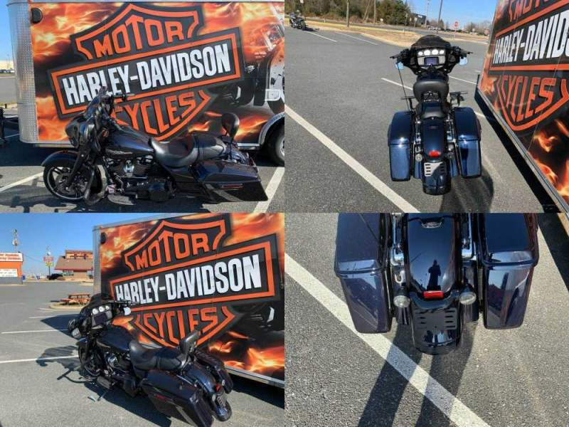 2019 Harley-Davidson Touring Street Glide Midnight Blue used for sale