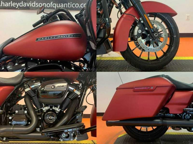 2019 Harley-Davidson Touring Road Glide Special Wicked Red Denim used for sale