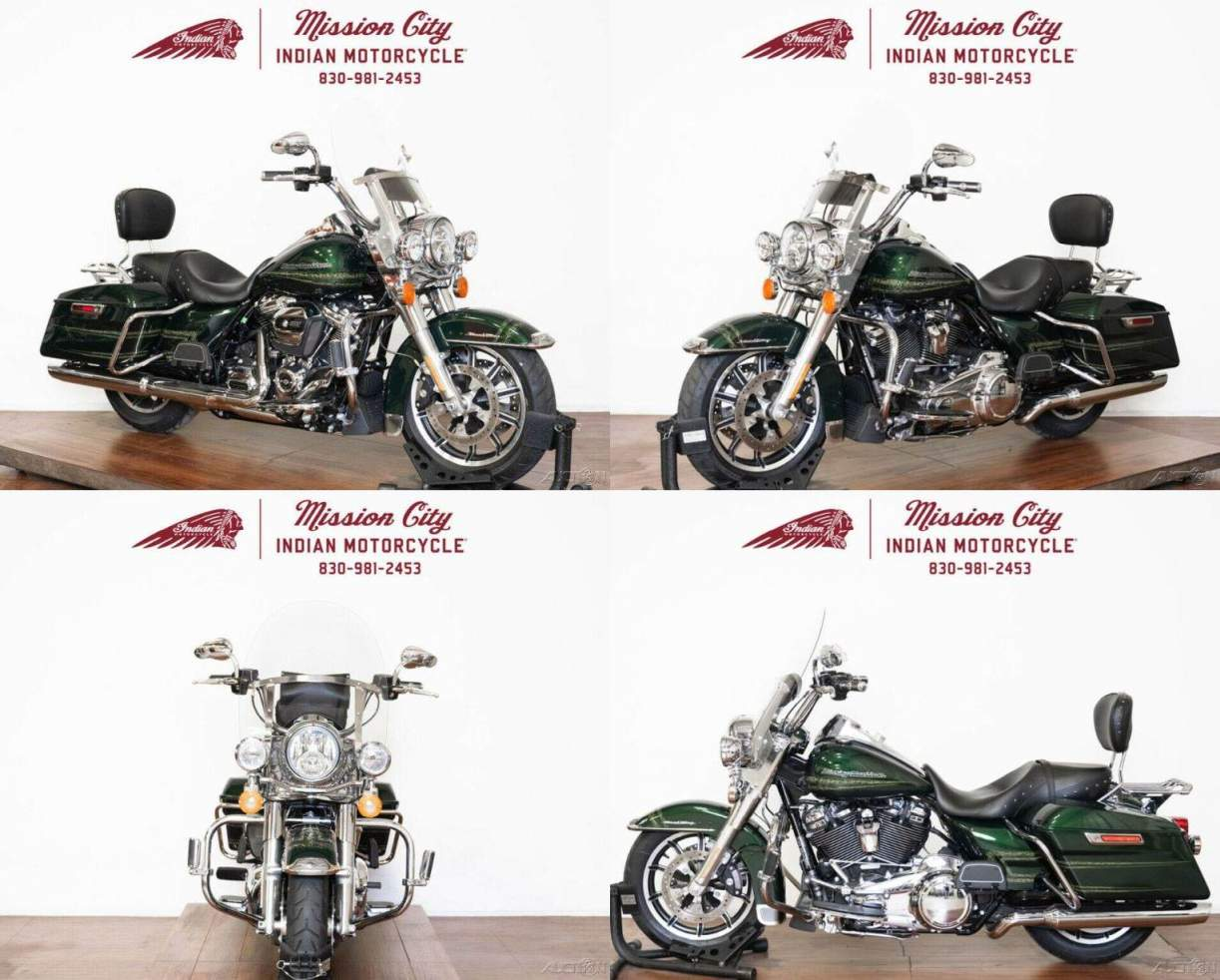 2019 Harley-Davidson Touring Kinetic Green used for sale near me