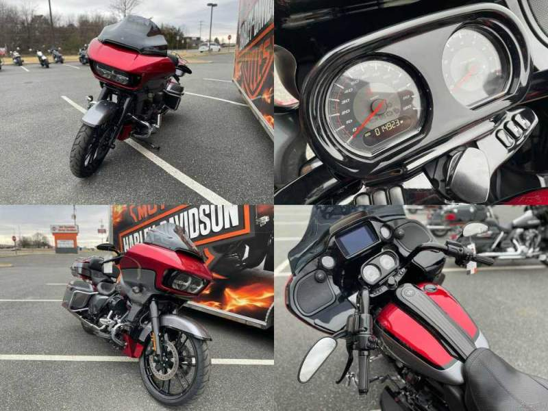 2019 Harley-Davidson Touring CVO Road Glide Red Pepper / Magnetic Grey With Black Hole used for sale