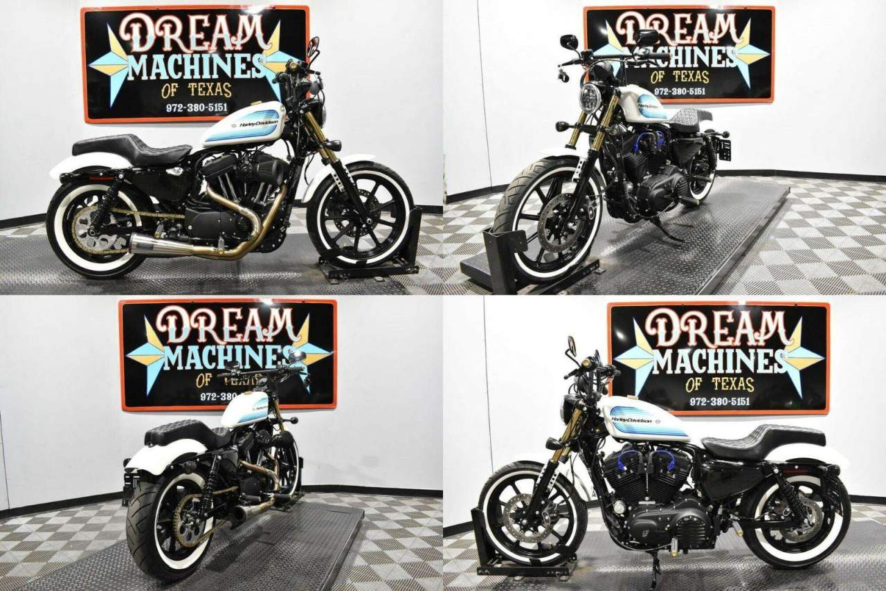 2019 Harley-Davidson XL 1200NS - Sportster Iron 1200 White used for sale