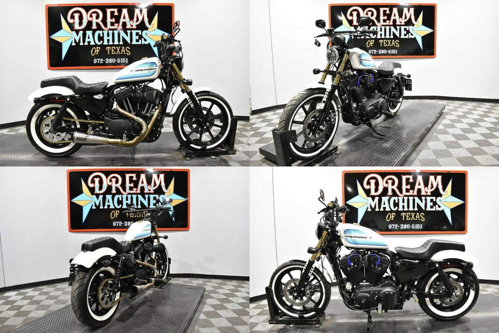 2019 Harley-Davidson XL 1200NS - Sportster Iron 1200 White used for sale craigslist