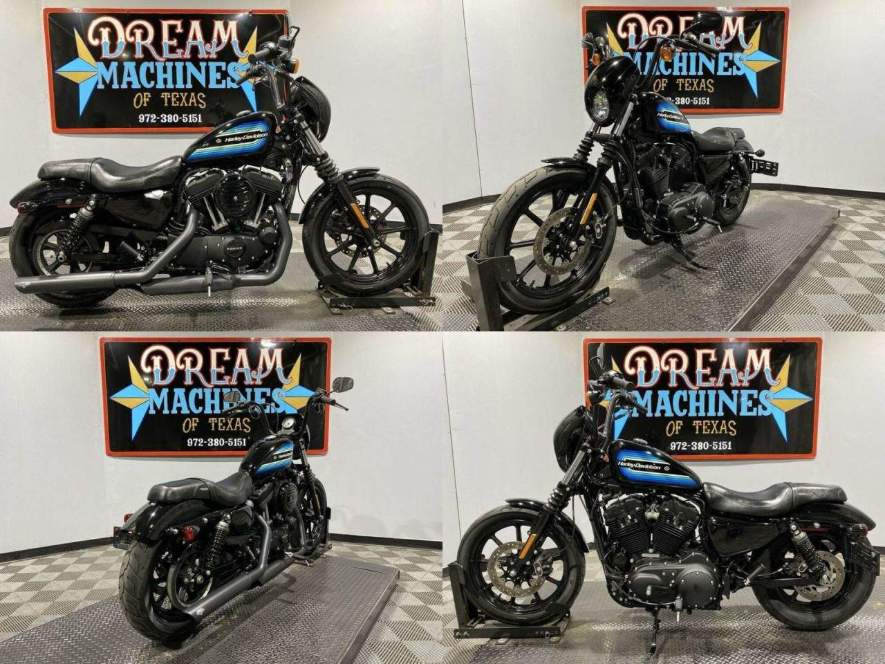 2019 Harley-Davidson XL 1200NS - Sportster Iron 1200 Black used for sale near me