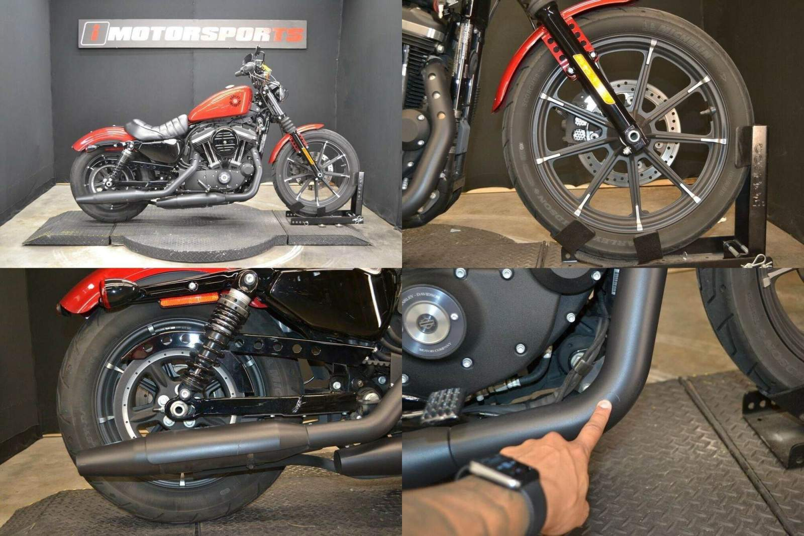 2019 Harley-Davidson XL 883N - Sportster Iron 883 Red used for sale