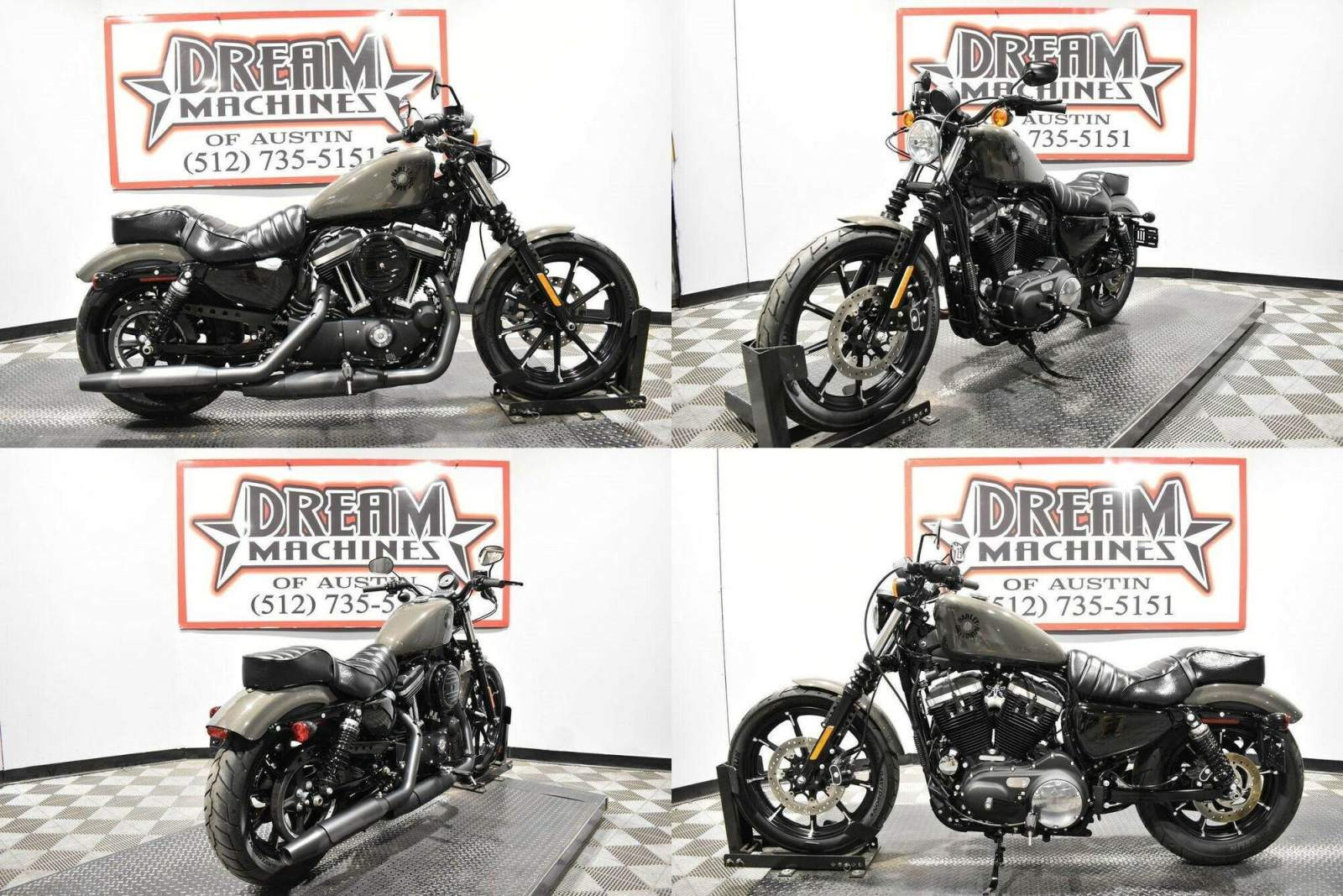 2019 Harley-Davidson XL 883N - Sportster Iron 883 Gray used for sale near me