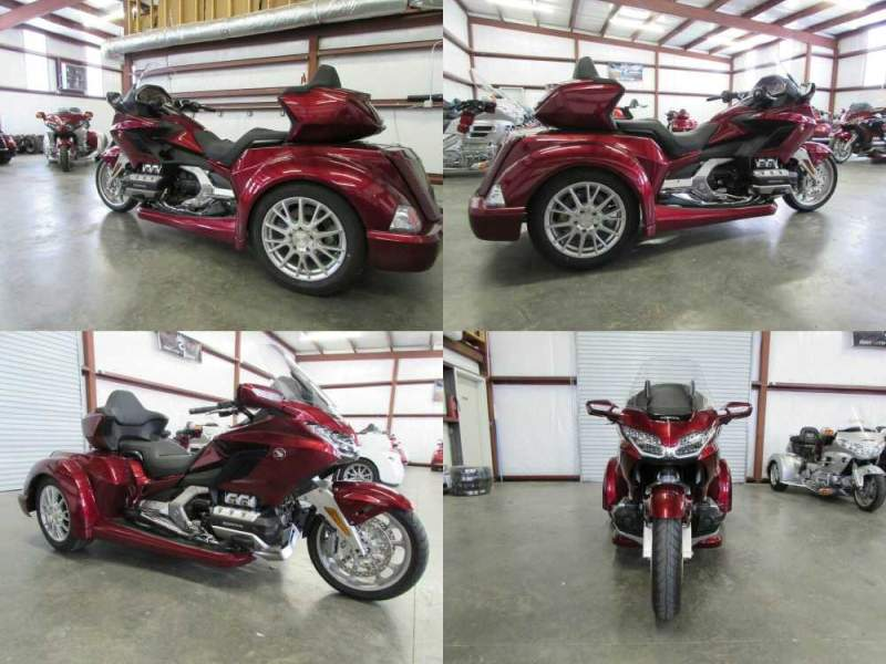 2019 Honda Gold Wing RED used for sale craigslist