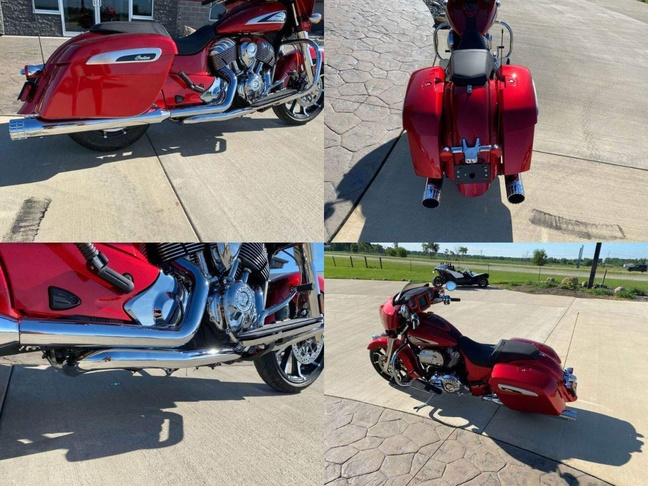 2019 Indian Chieftain® Limited ABS Ruby Metallic used for sale