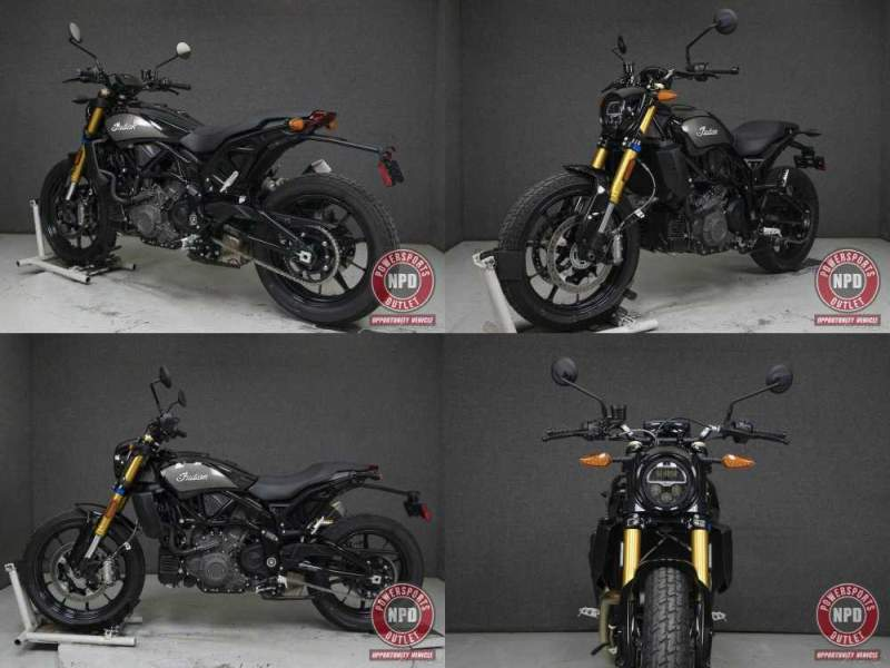 2019 Indian FTR1200S W/ABS S TITANIUM METALLIC/THUNDER BLACK PEARL used for sale