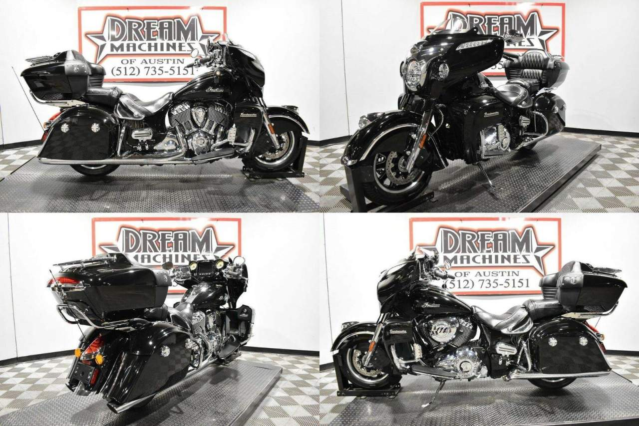 2019 Indian Roadmaster Thunder Black Black used for sale near me