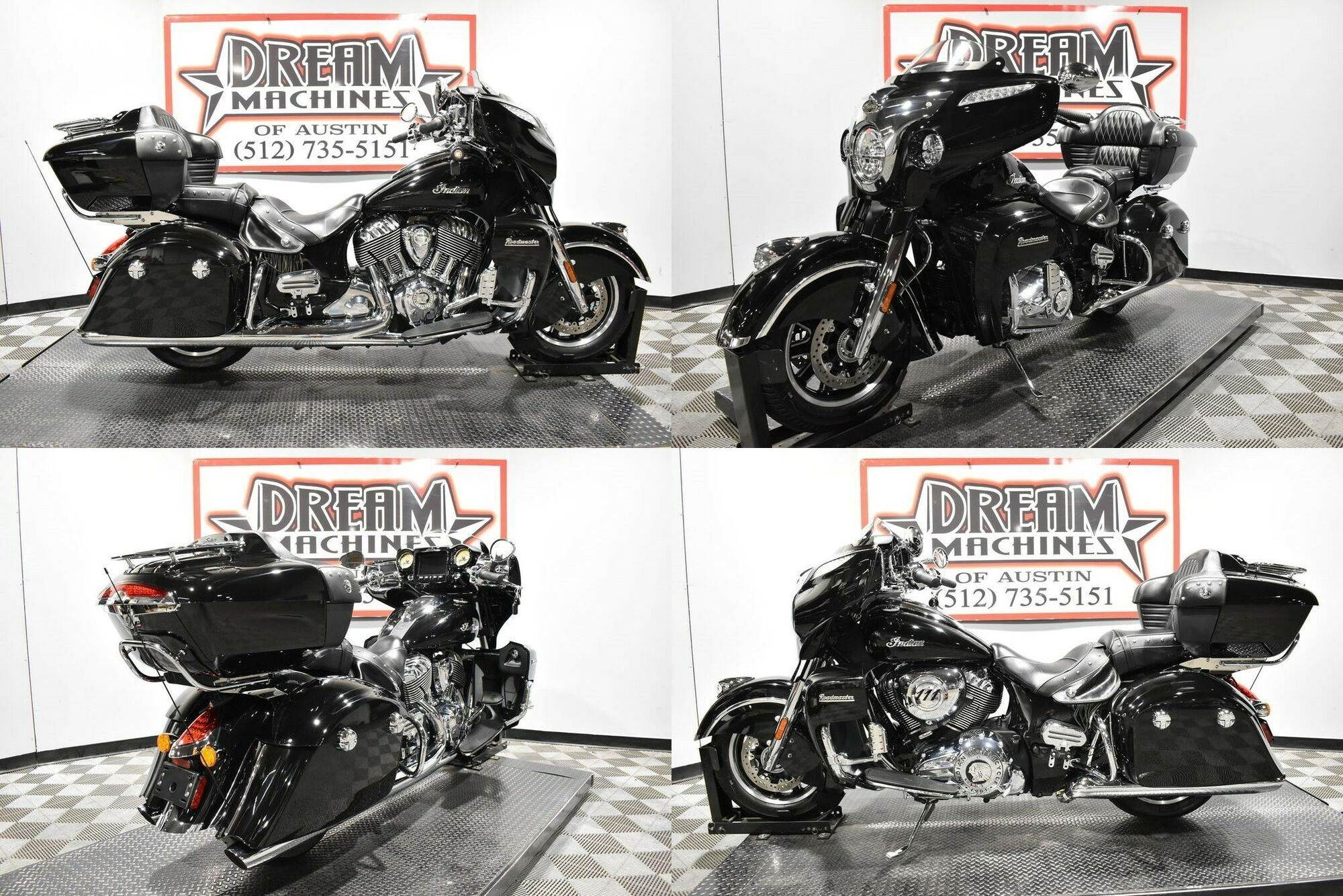 2019 Indian Roadmaster Thunder Black Black used for sale craigslist