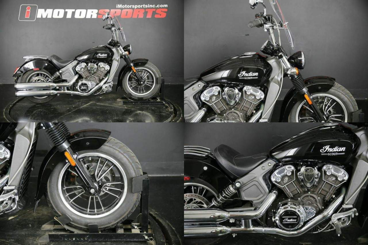 2019 Indian Scout ABS Thunder Black Black used for sale