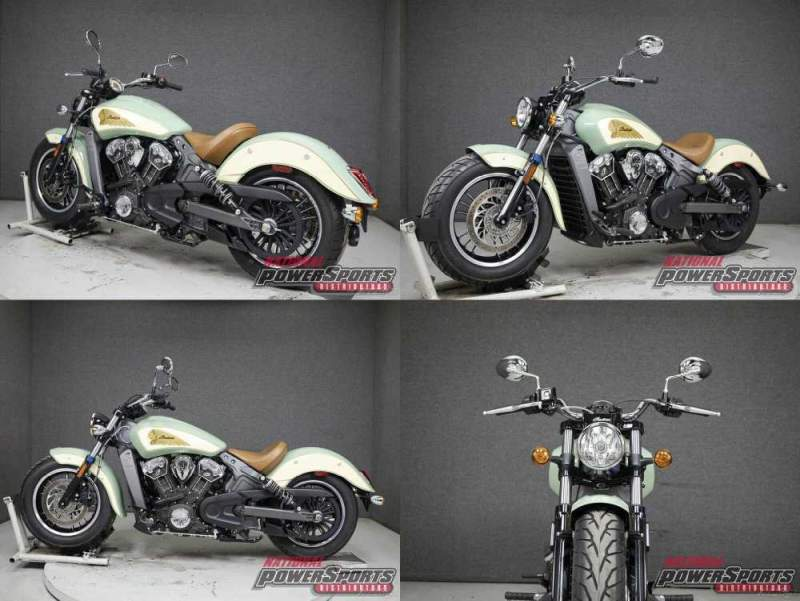 2019 Indian Scout WABS WILLOW GREEN/IVORY CREAM used for sale craigslist