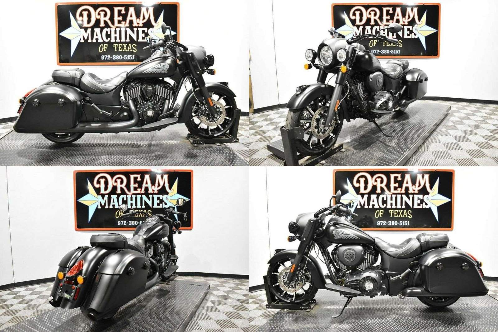 2019 Indian Springfield Dark Horse Black used for sale