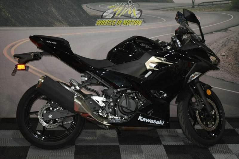 2019 Kawasaki Ninja® 400 ABS Metallic Spark Black Black used for sale