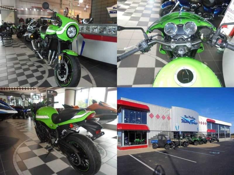 2019 Kawasaki RS 900 CAFE Green used for sale craigslist