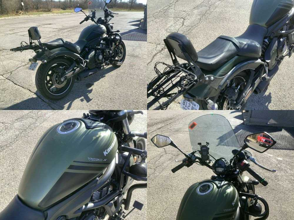 2019 Kawasaki Vulcan® S ABS Green used for sale