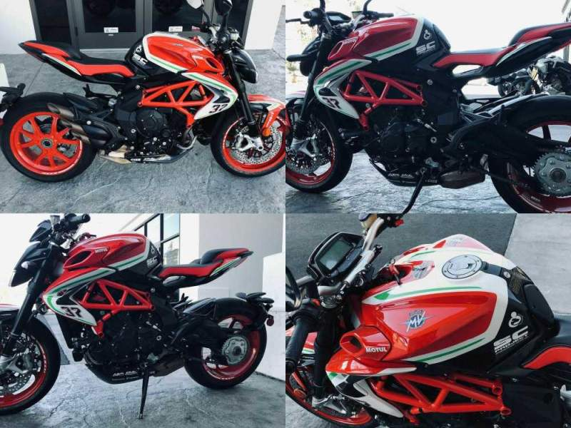 2019 MV Agusta Brutale 800 RC -- used for sale craigslist