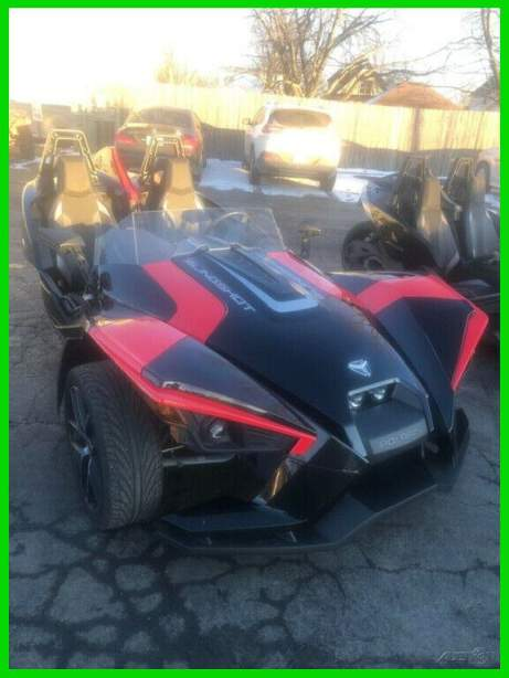2019 Other Makes SLINGSHOT SL BLACK PEARL W/RED HOOD & HOOP ACCENTS used for sale