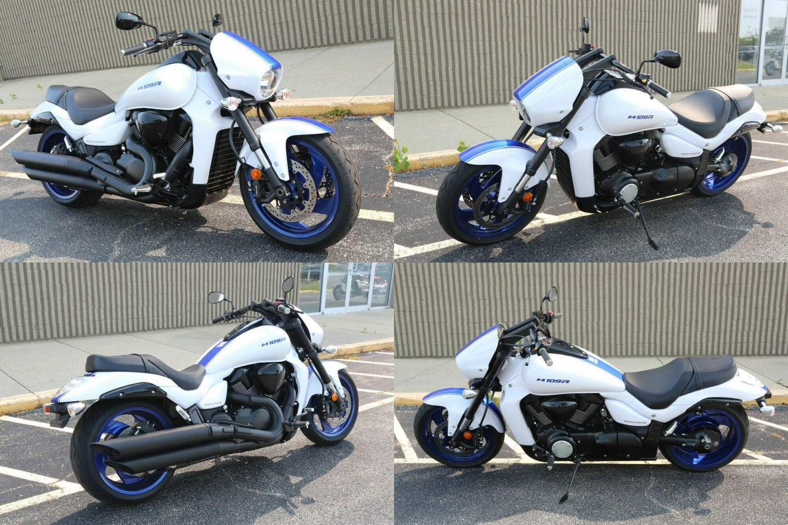2019 Suzuki Boulevard White used for sale