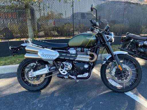 2019 Triumph Scrambler 1200 XC Green used for sale