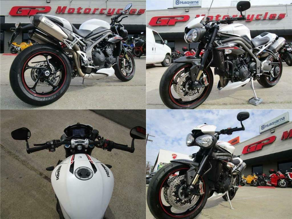 2019 Triumph Speed Triple RS White used for sale craigslist