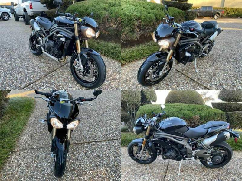 2019 Triumph Speed Triple S (Black) Black used for sale craigslist