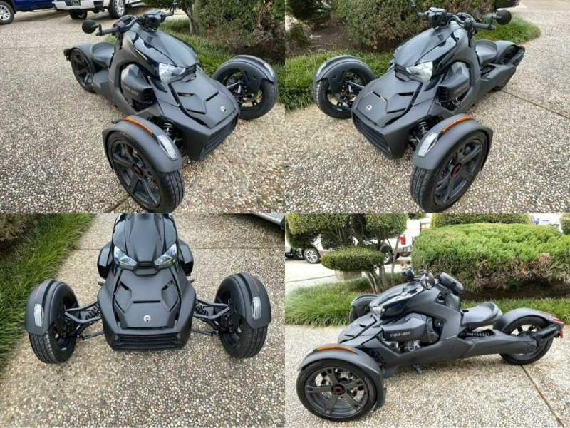 2020 Can-Am Ryker Black used for sale craigslist