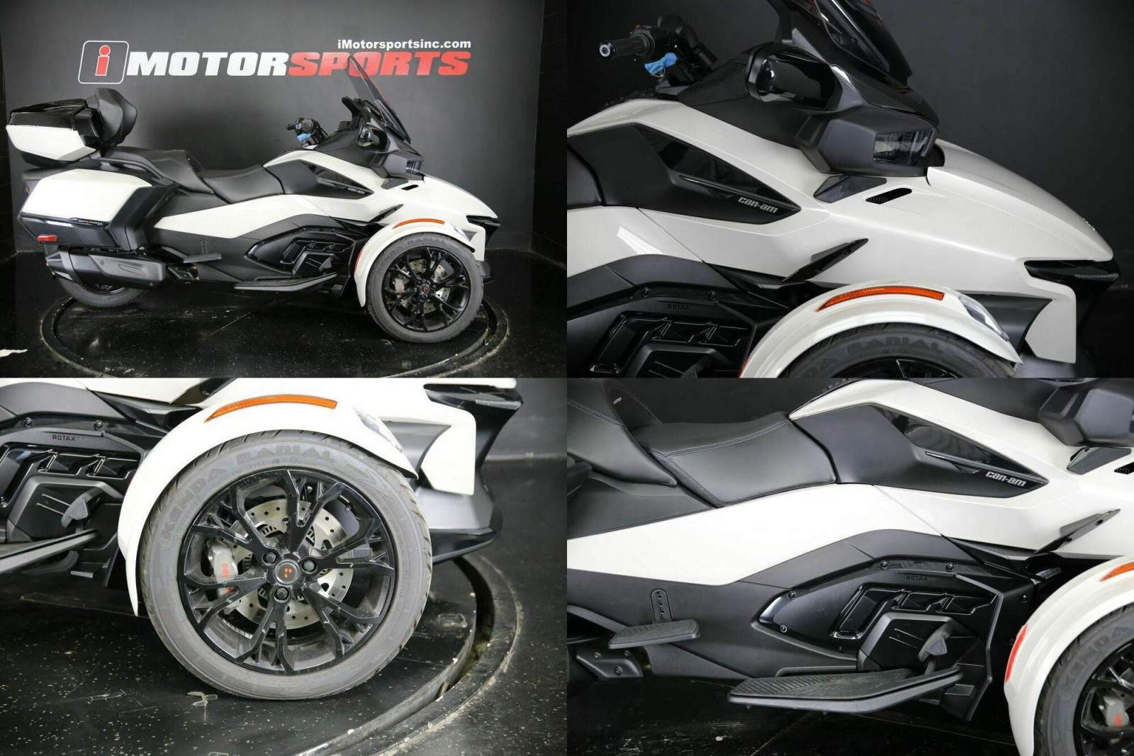 2020 Can-Am Spyder RT Limited Dark CHALK used for sale