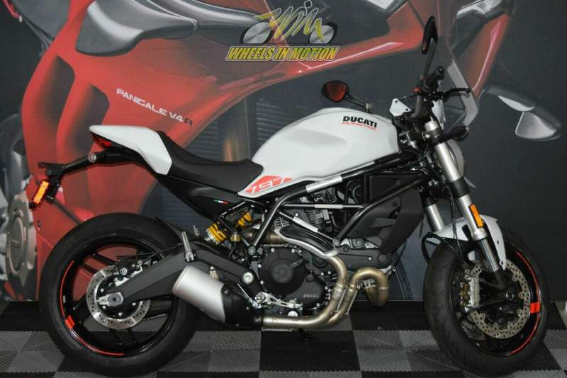 2020 Ducati Monster 797 Star White Silk White used for sale