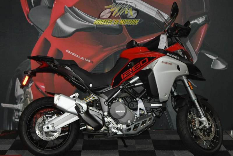 2020 Ducati Multistrada 1260 Enduro Red used for sale near me