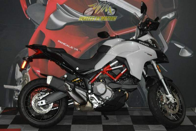 2020 Ducati Multistrada 950 S Spoked Wheels Glossy Grey Gray used for sale