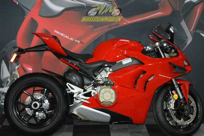 2020 Ducati Panigale V4 Ducati Red Red used for sale craigslist